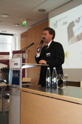 Jörg Conradi eröffnet den 2. MainNetzwerkTag