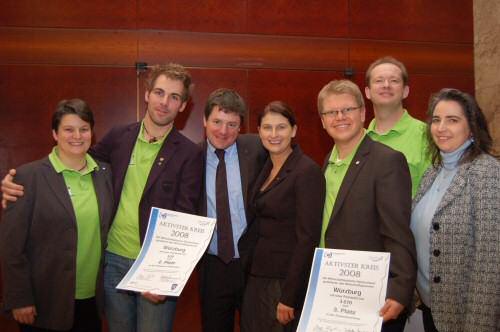 Die Gewinner in Frankfurt