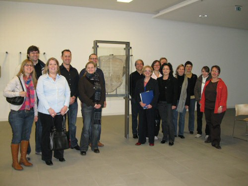 Gruppenbild im Museum
