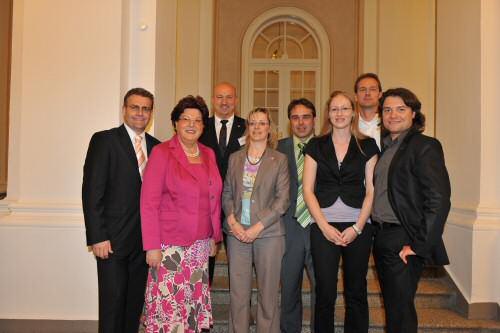Gruppenbild im Landtag