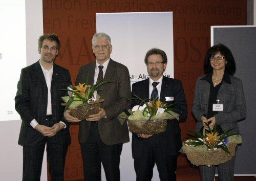 Holger C. Metzger, Kreissprecher WJ Würzburg, Herbert Wellhöfer, Fa. Wellhöfer GmbH & Co. KG, Jörg Conradi, Fa. Conradi Consult, Karin L. Meier, Mediengruppe Main-Post