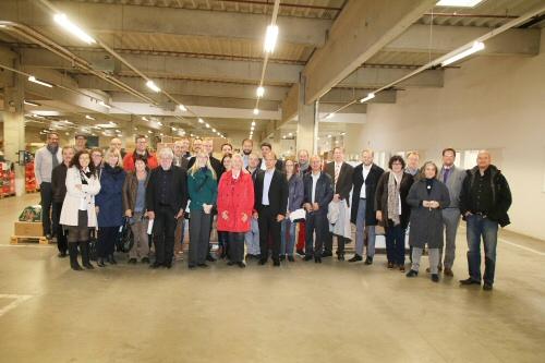 Mitglieder der WJ Würzburg gemeinsam mit Mitgliedern des Netzwerkes Würzburg Wertevoll
